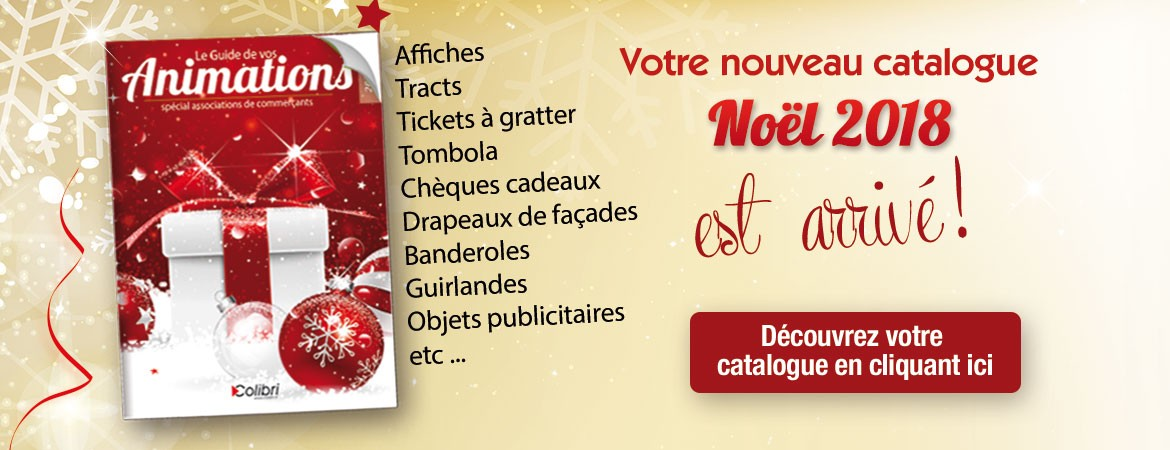 catalogue animations  Noël 2018