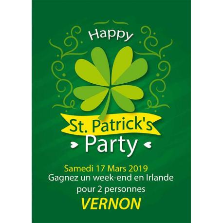 Affiches A3 (30x42 cm) Saint Patrick