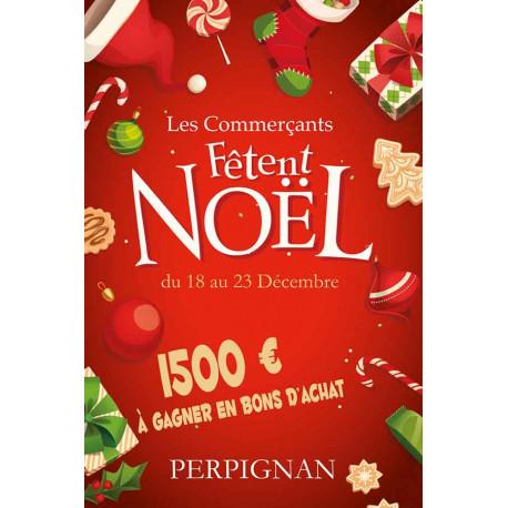 Affiches A3 (30x42 cm) Joyeux Noël rouge