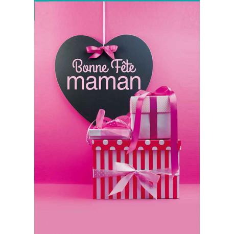 Guirlandes intérieures spécifiques Bonne Fête Maman Rose