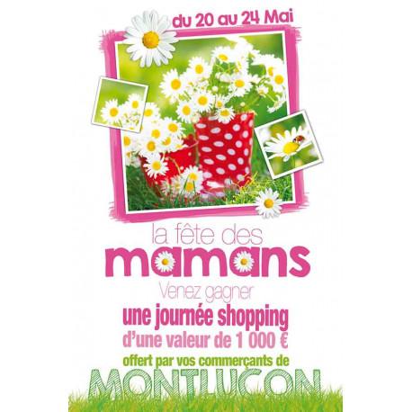 Affiches A3 (30x42 cm) Bonne Fête Maman