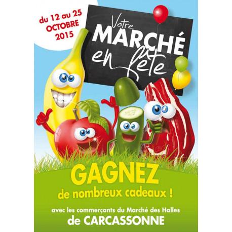 Tracts 15x21 Marché en Fête légumes