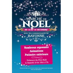 Tracts 15x21 Marché de Noël Bleu Nuit