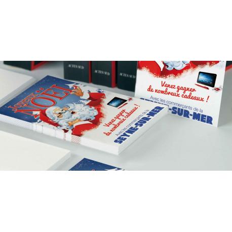 Tracts 21x29,7 Joyeux Noël Père Noël