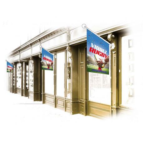 Drapeaux de façade spécifiques