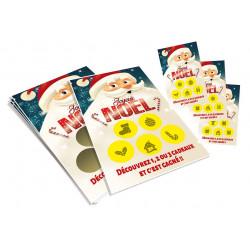 Cartes à gratter perdantes Noël 18
