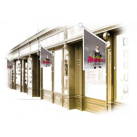 Drapeaux de façade spécifiques Spécial Rentrée