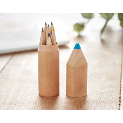 Set crayons en bois
