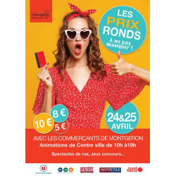 Affiches A3 (30x42 cm) Prix Ronds