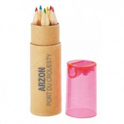 Set 6 crayons de couleur