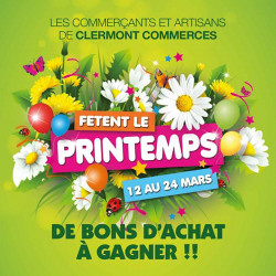 Tickets de tombola 10x21 Fête du Printemps