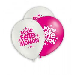 "Ballons maman Ballons ""Bonne Fêtes maman"""