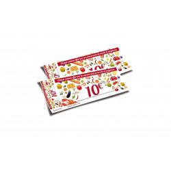 Chèques cadeaux classiques Marché en Fête 2