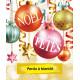 Affiches A3 (30x42 cm) Joyeux Noël Joyeuses fêtes