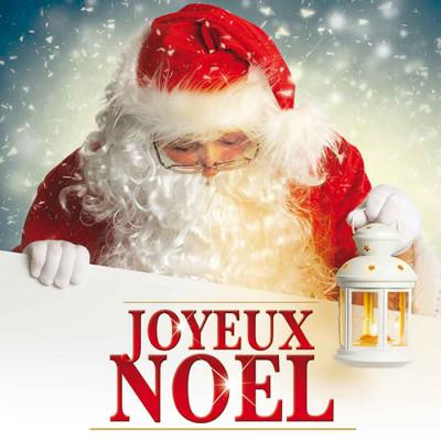 Joyeux Noël Père Noël lanterne