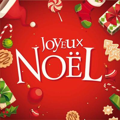 Joyeux Noël rouge