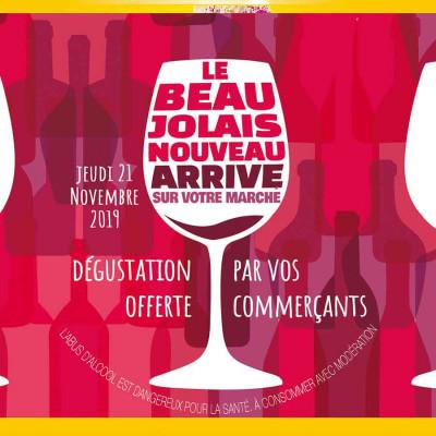 Beaujolais 2019 verre