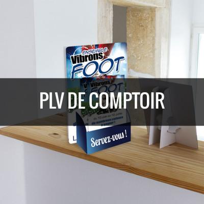 Plv comptoir