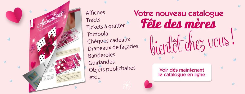 Catalogue en ligne Fête des mères