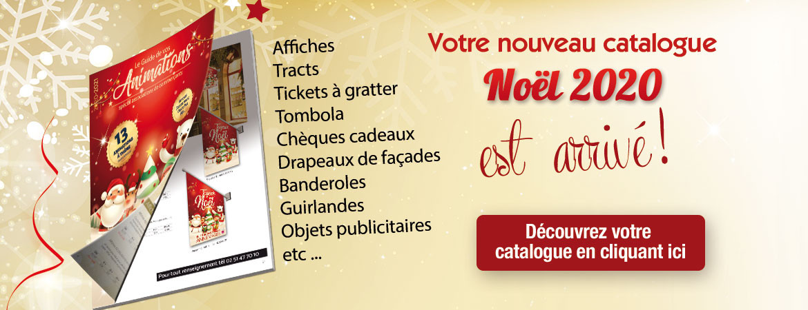 catalogue animations Noël 2020