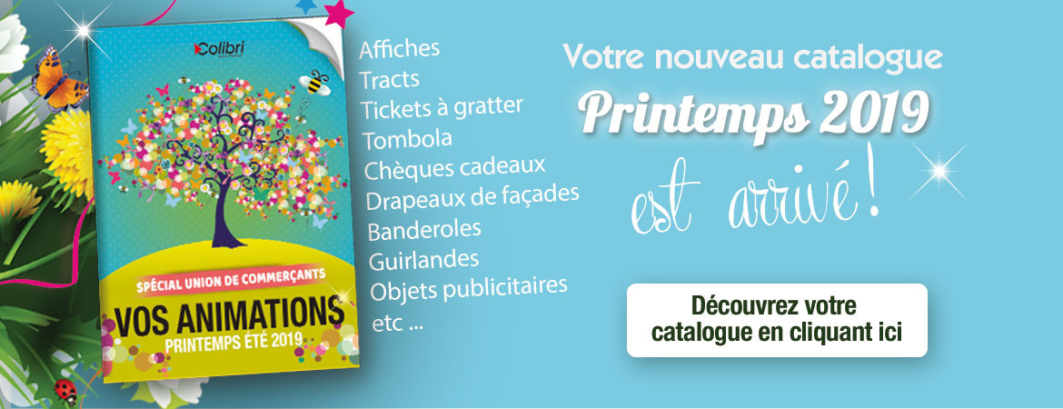 Catalogue Printemps 2019